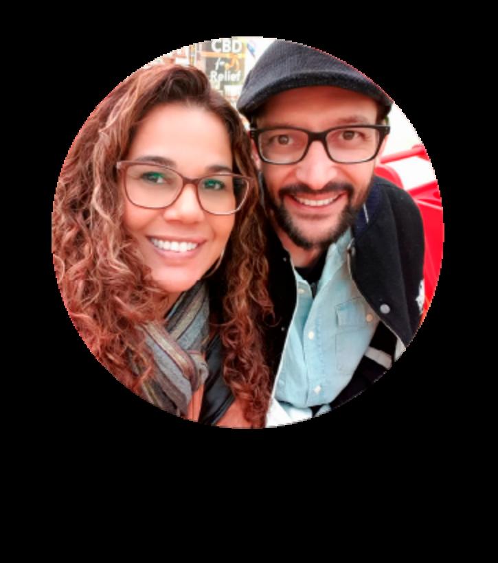 Eliana Ribeiro e Fábio Roniel - Efac Net Comunidade Recado