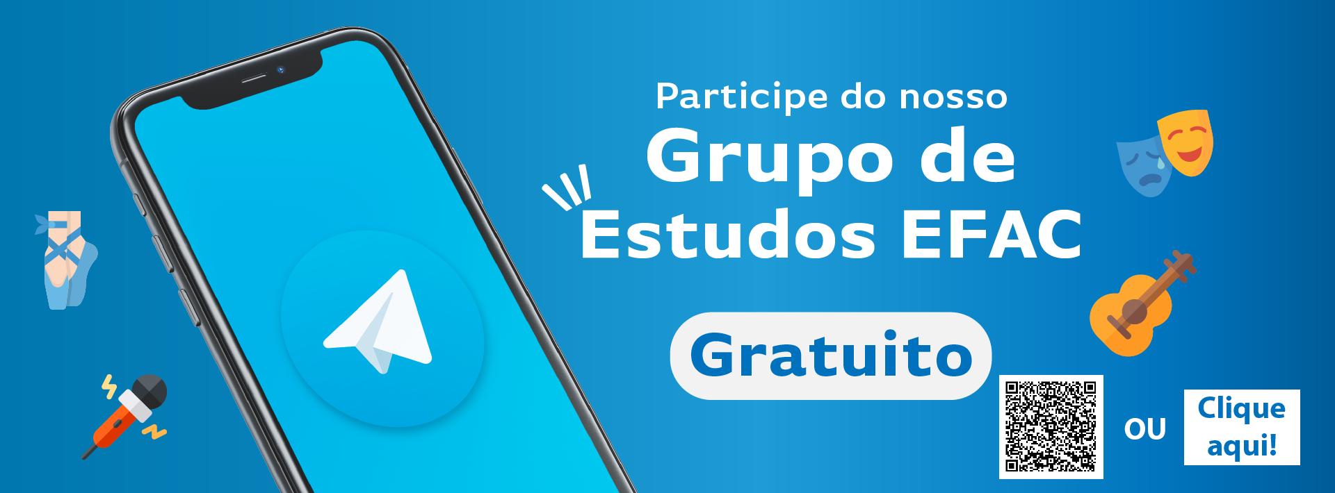 Grupo telegram Efac Comunidade Recado